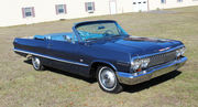 1963 Chevrolet Impala Convertible 2 Door